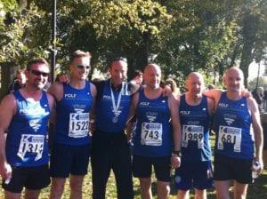 Leicester Half Marathon 2012 - Pole Arnold