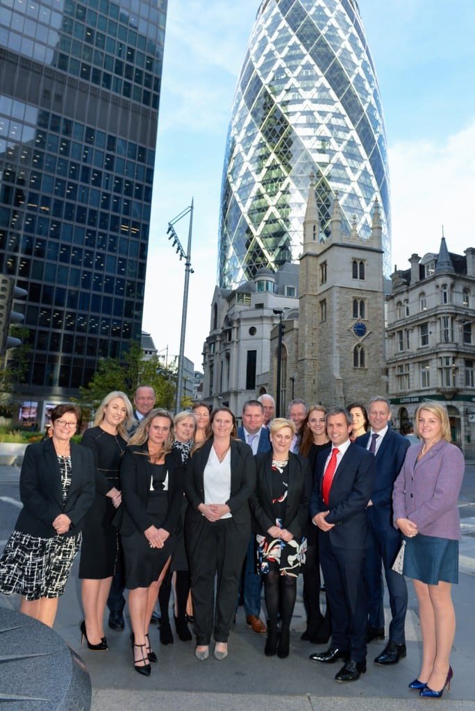 Pole Arnold hold 2018 London Investment conference at Iconic Gherkin - Pole Arnold