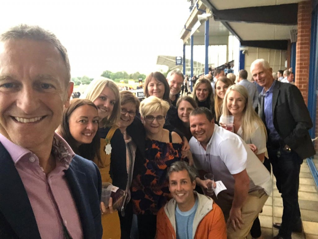 Team Outing to Leicester Races - Pole Arnold