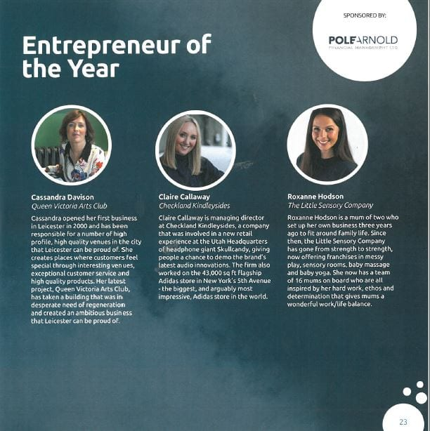 Pole Arnold Sponsor Entrepreneur of the Year Awards 2019 - Pole Arnold